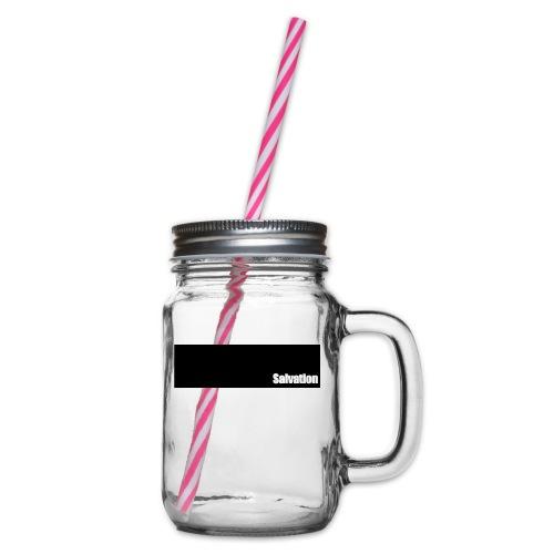 Salvation - Henkelglas mit Schraubdeckel