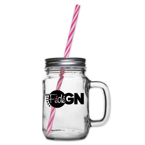 Logo FédéGN pantone - Bocal à boisson