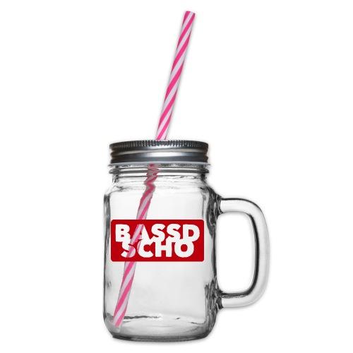 BASSD SCHO - Henkelglas mit Schraubdeckel