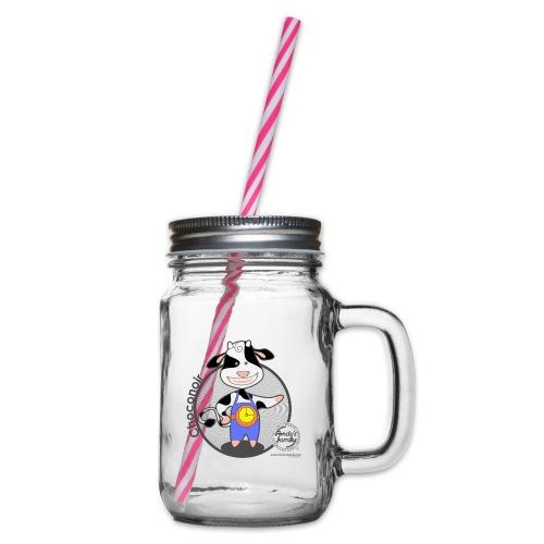 FF CHOCONOIR 02 - Henkelglas mit Schraubdeckel