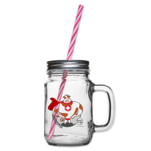 FF BERG 02 - Henkelglas mit Schraubdeckel