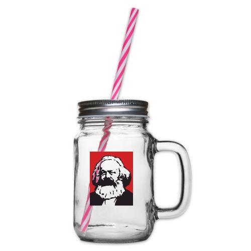 Karl Marx - Boccale con coperchio avvitabile