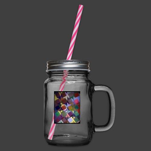 Twenty - Glass jar with handle and screw cap