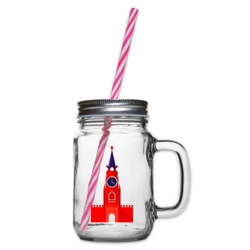 Kremlin by Julia Dudnik - Glass jar with handle and screw cap