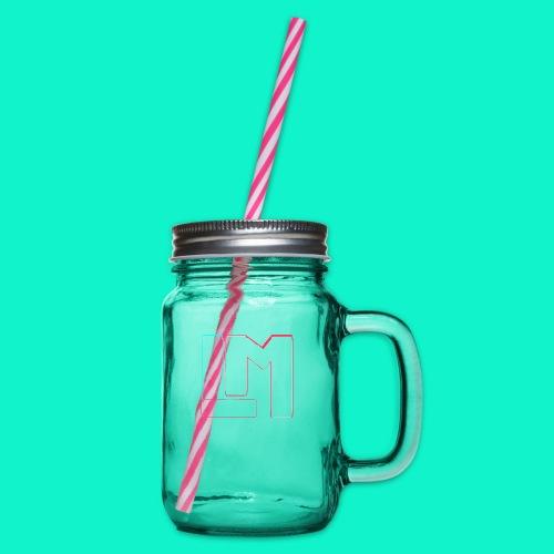 LM - Drinkbeker met handvat en schroefdeksel