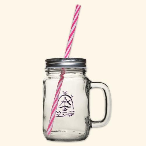 Arfolara solo - Henkelglas mit Schraubdeckel