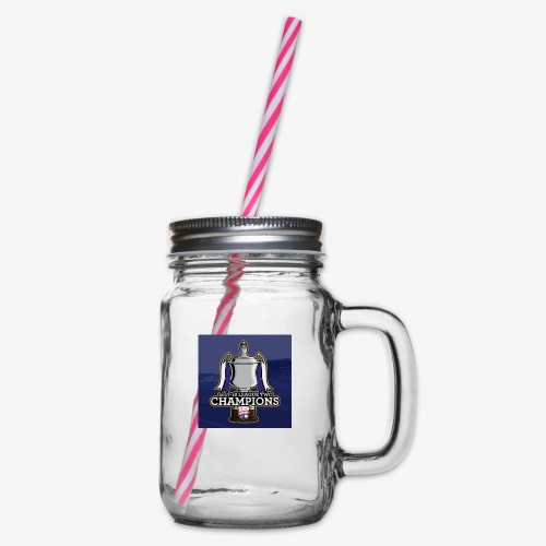 MFC Champions 2017/18 - Glass jar with handle and screw cap