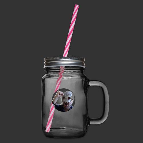 Logo kanału wicek3d na Youtube - Słoik do picia z pokrywką