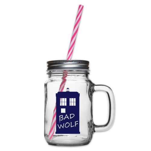 Bad Wolf Tardis - Bocal à boisson