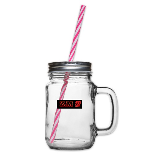 Z.M 100 - Glass jar with handle and screw cap