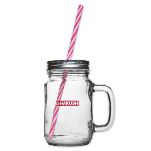 Shakush - Glass jar with handle and screw cap