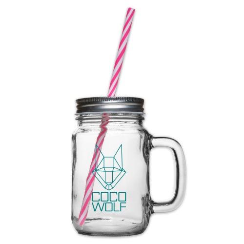 COCO WOLF - Henkelglas mit Schraubdeckel