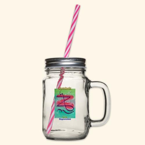 Zeniel - Henkelglas mit Schraubdeckel