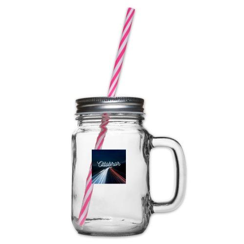 Ottobror 1 - Glas med handtag och skruvlock