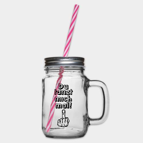 Tanz ab! - Henkelglas mit Schraubdeckel