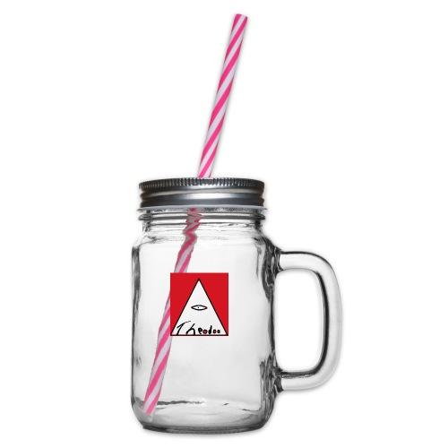 theodoo 1 - Glas med handtag och skruvlock
