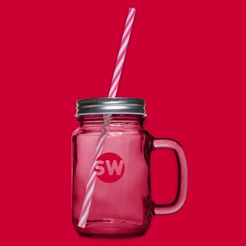 SchipholWatch - Drinkbeker met handvat en schroefdeksel