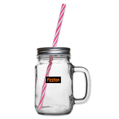 fizzlton shirt - Glass jar with handle and screw cap