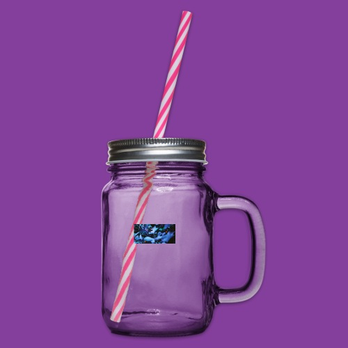 R1 00607 0004 - Glass jar with handle and screw cap
