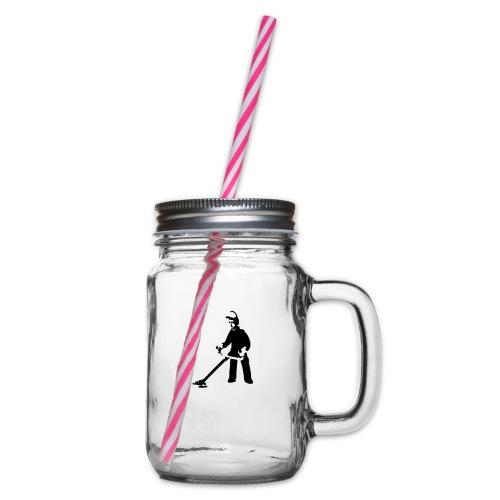 sensenmann - Henkelglas mit Schraubdeckel