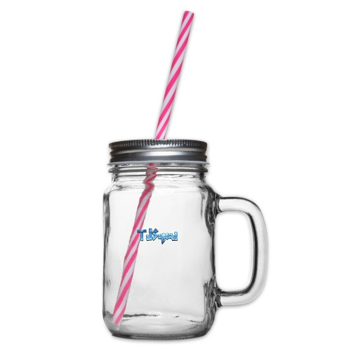 TJ SQUAD MERCH!!! - Glass jar with handle and screw cap
