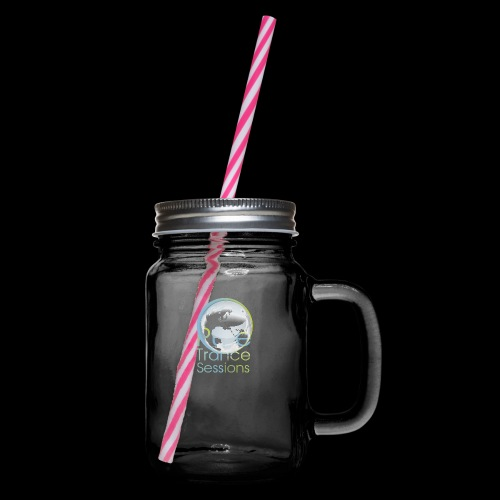 PTS logo new15 beeldmerkS png - Glass jar with handle and screw cap