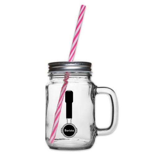 Siebträger Barista V - Henkelglas mit Schraubdeckel