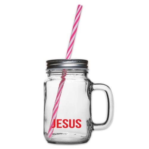 Y'all need Jesus - christian faith - Henkelglas mit Schraubdeckel