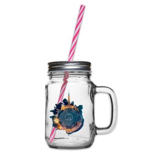 Little Forschd - Henkelglas mit Schraubdeckel