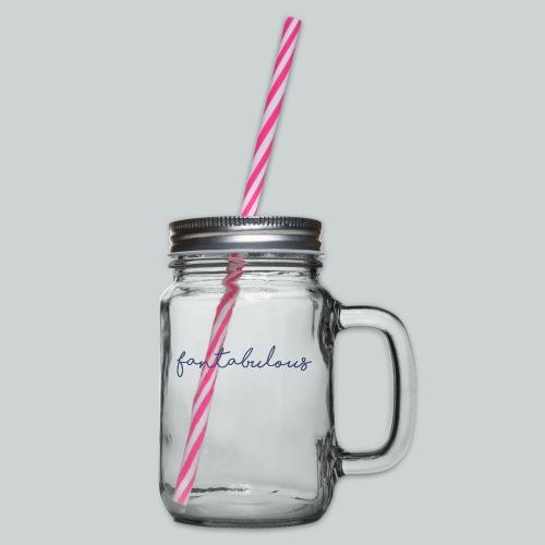 Fantabulous - Glas med handtag och skruvlock