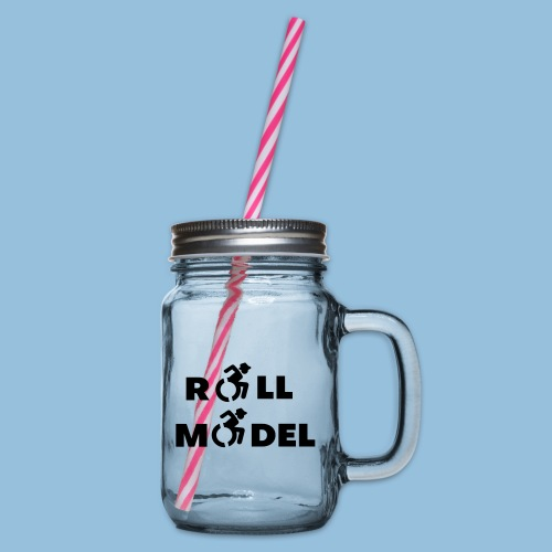 RollModel5 - Drinkbeker met handvat en schroefdeksel