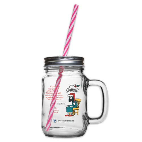 Antigone Funn Christmas - Glass jar with handle and screw cap