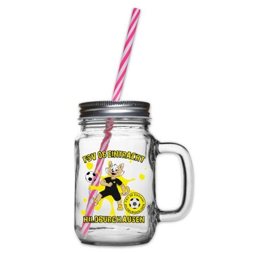 Hildburghausen ESKater - Henkelglas mit Schraubdeckel
