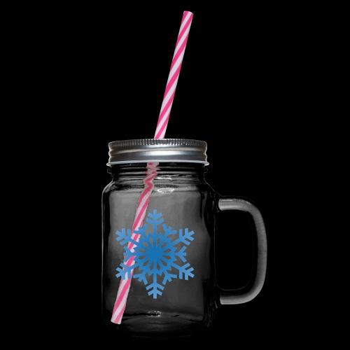 Snowflake - Drikkekrus med skruelåg