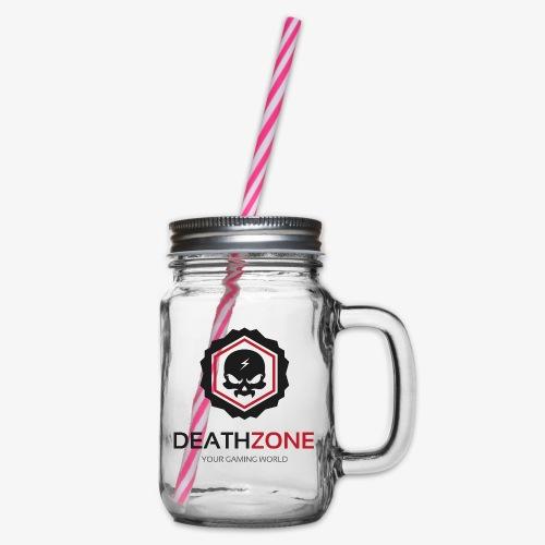 DeathZone Logo Avatar - Słoik do picia z pokrywką