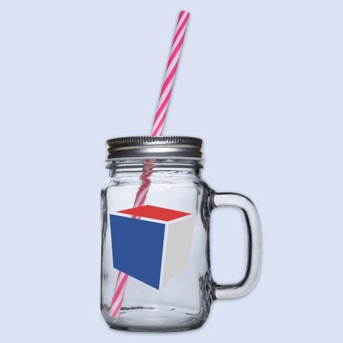 Cube Minimaliste - Bocal à boisson