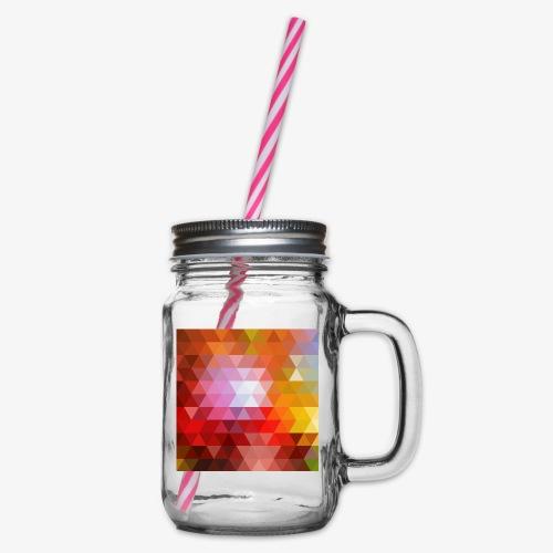 TRIFACE motif - Bocal à boisson