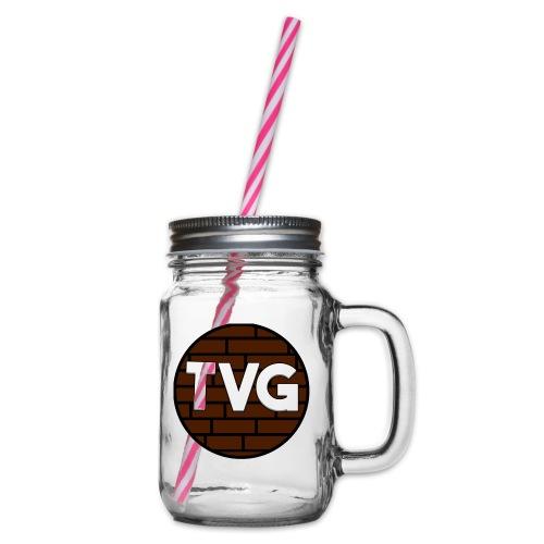 TeVeelGamers - Drinkbeker met handvat en schroefdeksel