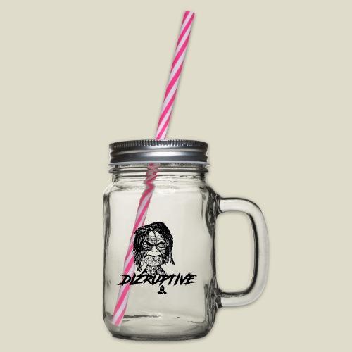 dollface dizruptive - Henkelglas mit Schraubdeckel
