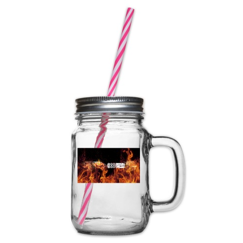 Barbeque Chef Merchandise - Glass jar with handle and screw cap