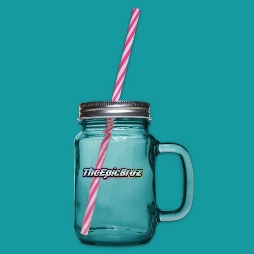 TheEpicBroz - Drinkbeker met handvat en schroefdeksel