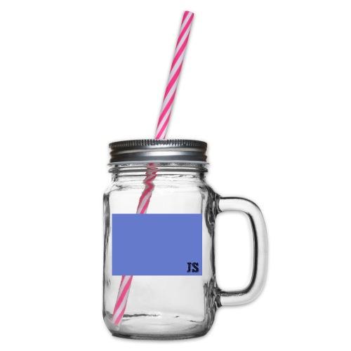 JustSquares Licht-Paars - Drinkbeker met handvat en schroefdeksel