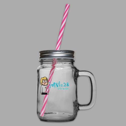 Jornis28-Rick ad Morty collection - Henkelglas mit Schraubdeckel