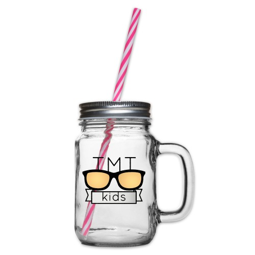 TMT Too Much Talent 09/17 - Glass jar with handle and screw cap