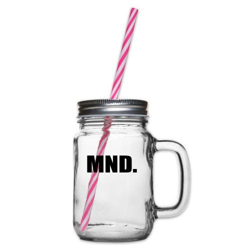 MND. - Drinkbeker met handvat en schroefdeksel