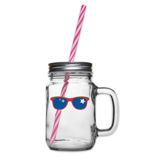 POP ART - Stars and glass - Bocal à boisson