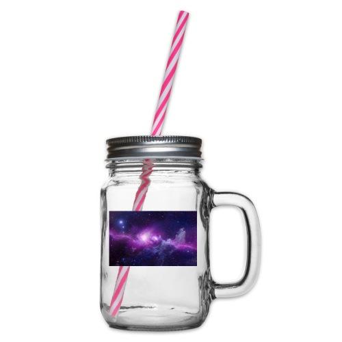 tshirt galaxy - Bocal à boisson