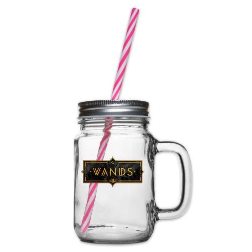 WANDS® - Glas med handtag och skruvlock