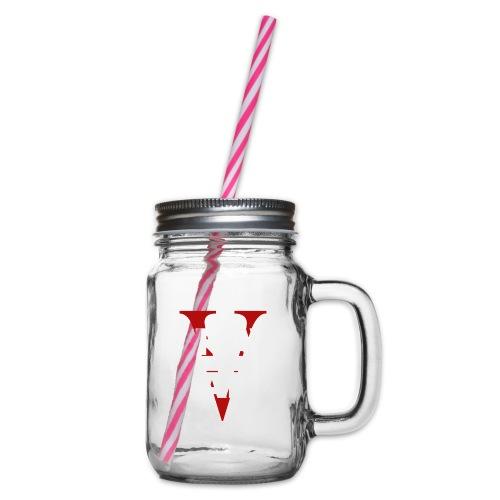 KMMG V Years - Henkelglas mit Schraubdeckel