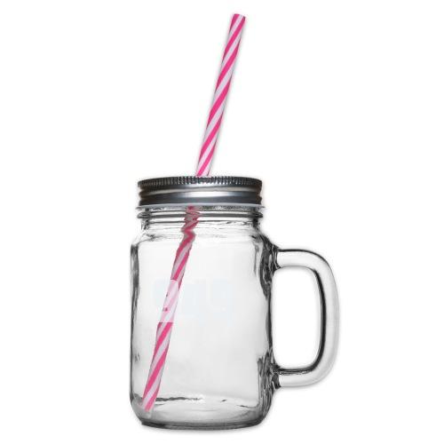 949withe - Henkelglas mit Schraubdeckel